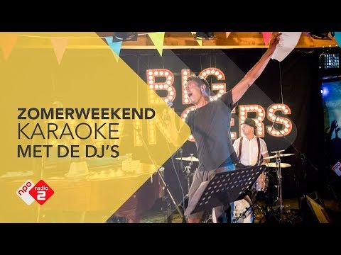 Karaoke met de DJ's @ Zomerweekend | NPO Radio 2