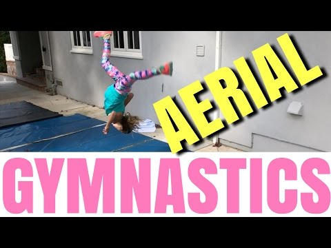 Chloe's Gymnastics Aerial