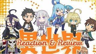 Isekai Quartet (異世界かるてっと Isekai Karutetto) Episode 1 Reaction & Review