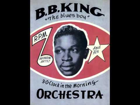 RIP BB King – The Blues 1958 When My Heart Beats Like A Hammer