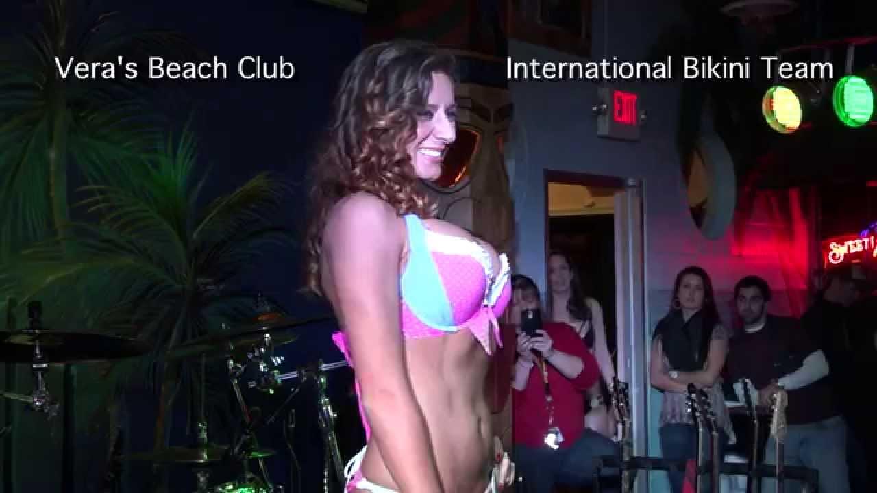 Contest bikini seabrook club beach