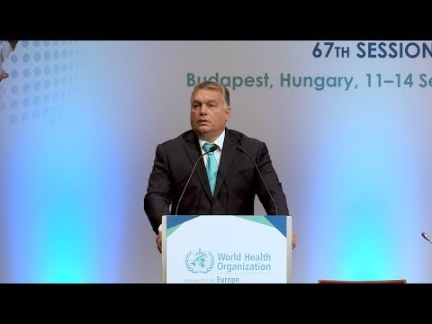 Address from the Prime Minister of Hungary, Viktor Orbán (with English audio translation)