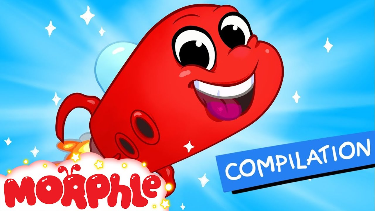 my red space ship 1 hour non stop kids videos my magic pet