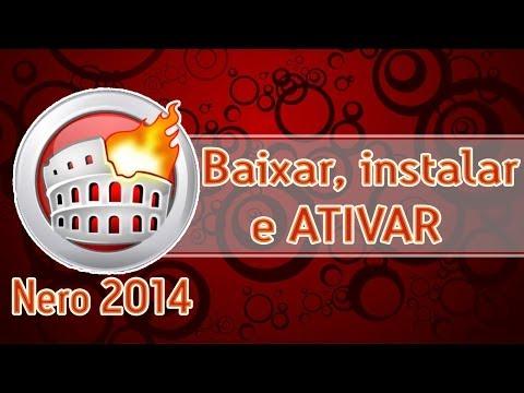 Baixar, Instalar E Ativar = Nero 2014 Platinum.
