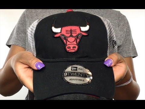 39ffc409a17 Bulls  RUSTIC TRUCKER SNAPBACK  Hat by New Era - YouTube