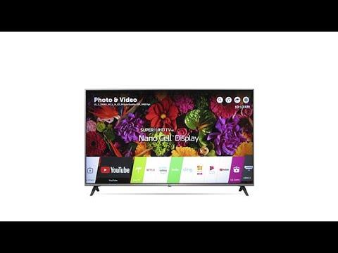 "LG UK7700 55"" 4K Nano Cell UHD Smart TV with HDR and Goo..."