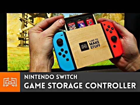 Nintendo Switch Game Storage Controller // How-to - YouTube