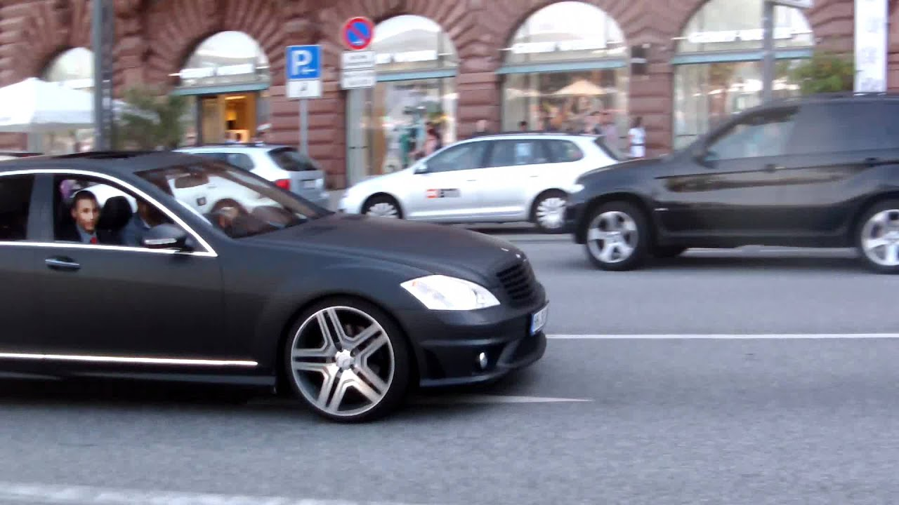Mercedes S 500 Revs Cls 63 Amg M5 F10 Youtube