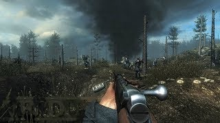 FRENCH INFANTRY IN HEAVY BATTLE OF WW1 ! FPS Game on PC Verdun