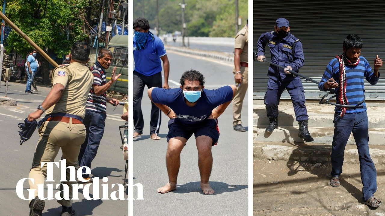 'Shoot them dead': extreme Covid-19 lockdown policing around the world
