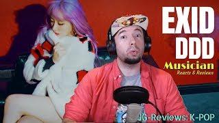 Musician Reacts & Reviews 'EXID - 덜덜덜DDD' | JG-REVIEWS:K-POP