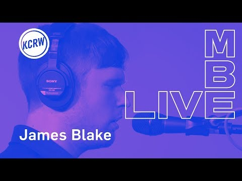 "James Blake performing ""Barefoot In The Park""  on KCRW"