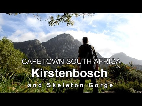 KIRSTENBOSCH and SKELETON GORGE Capetown South Africa