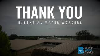 Thank You Essential Water Workers