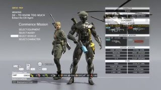 Metal Gear Solid V: The Phantom Pain Savegame 100% Completed PC