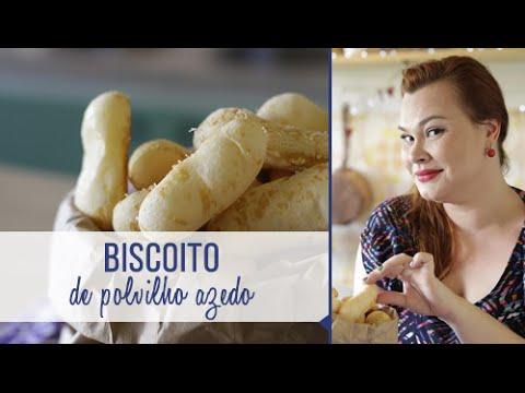 Como fazer biscoito de polvilho com queijo