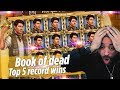 ROSHTEIN Top 5 Record Wins on Book of Dead slot