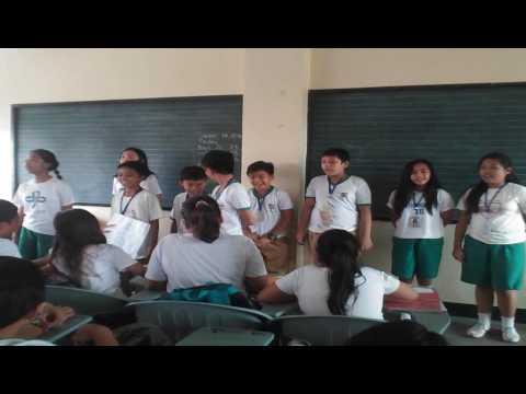 """Mangarap ka"" grade 6 pupils"