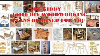 Easy 16 000 woodworking DIY plans Design Ready