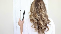 How To Curl Your Hair With A Flat Iron | Long Lasting