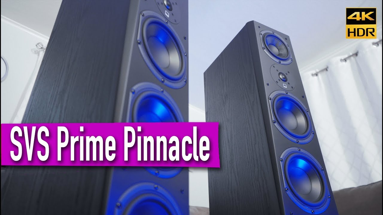 SVS Prime Pinnacle Speakers for Home Theater? | Unboxing