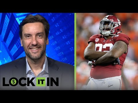 Clay Travis likes Quinnen Williams to go 2nd, NY (N) to take a defensive player at 6 | LOCK IT IN