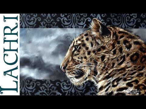 Speed painting leopard