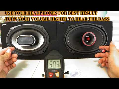 Super Expensive Blow  Pioneer TS6900PRO PRO Series 6x9 VS Polk Audio MM 6x9  Bass Test With
