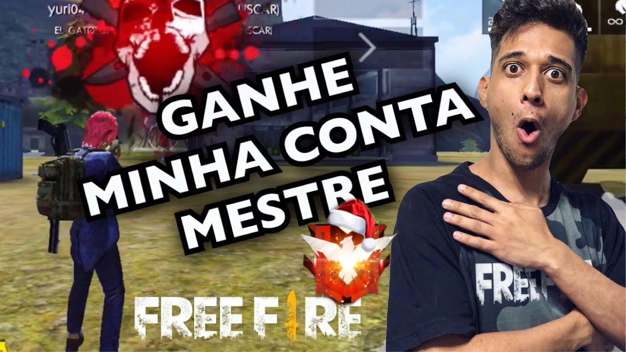 VOU DAR MINHA CONTA MESTRE DO FREE FIRE! EL GATO