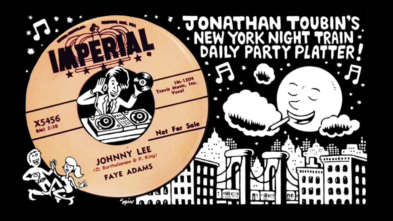 Faye Adams Quot Johnny Lee Quot Imperial 1957 Ny Night Train