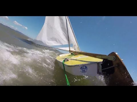 4.5 Hours Of Sunfish Sailing Terror In 21 Minutes