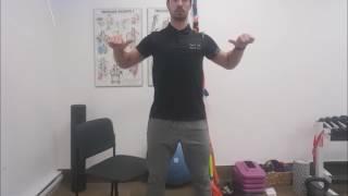 Étirement du dos - muscles rhomboïdes