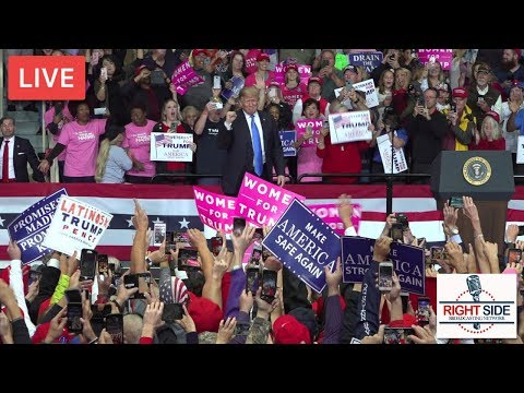 LIVE: President Donald J. Trump Rally in Cleveland, OH 11-5-18