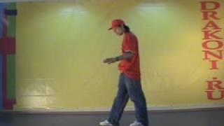 Уроки танцев стиль popping (поппинг): связка 1 (для начинающих)