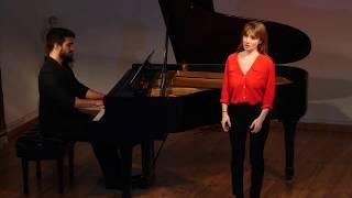 Romanze, D797, Franz Schubert; Marielou Jacquard, mezzo; sopranoKunal Lahiry, piano