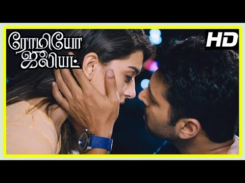 Romeo Juliet Movie Scenes | Poonam Bajwa invites Jayam Ravi home | Hansika and Jayam Ravi get close