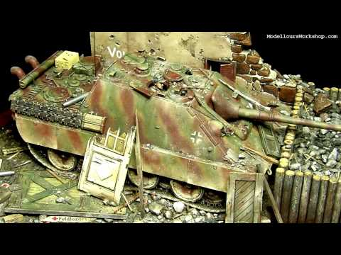 Diorama of the Day: Jagdpanther by Paul Keefe