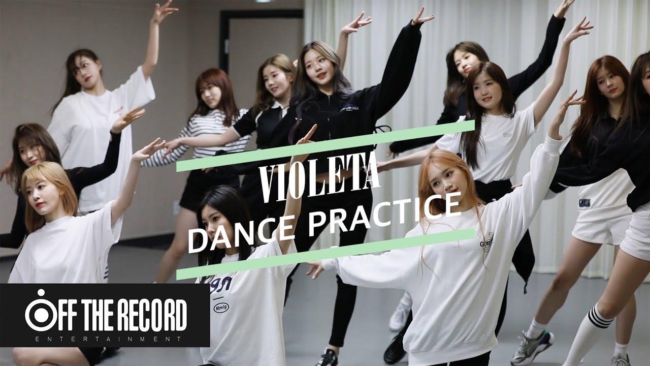 IZ*ONE (아이즈원) — 비올레타 (Violeta) Dance Practice