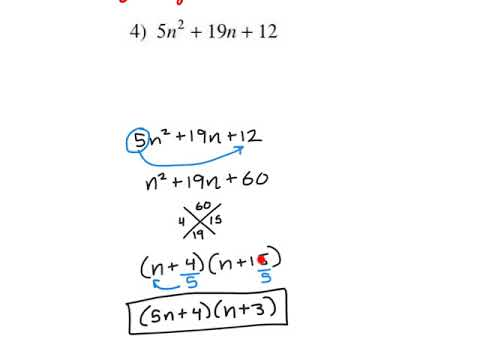 Factoring Trinomials with the Bottom-Up Method
