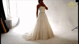 Свадебное платье Молли, шлейф, производство