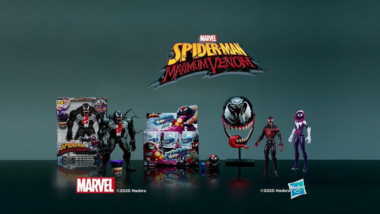 Hasbro México| Maximun Venom|Marvel