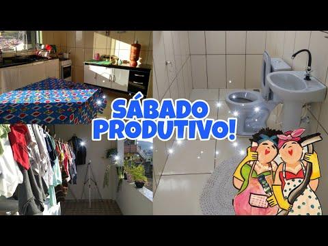 ROTINA DE SÁBADO CUIDANDO DA CASA | Tati Barbosa thumbnail