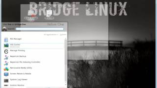 Bridge Linux 2012.12 Kde Presentation