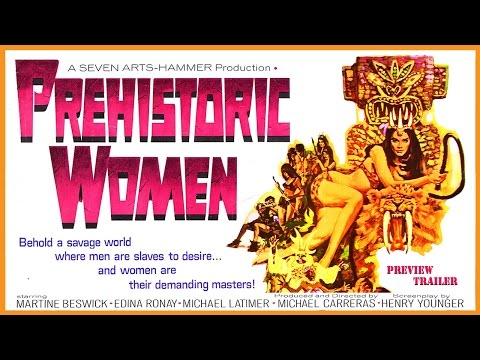 Prehistoric Women (1967) Trailer - Color / 2:10 mins