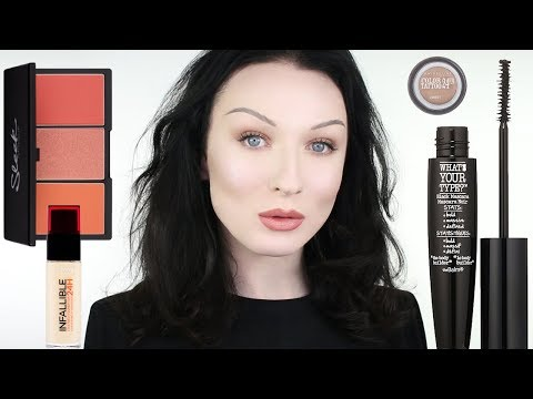 Full Face of Affordable Drugstore Makeup | John Maclean