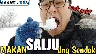 Makan SALJU dengan Sendok!! Enak gk??