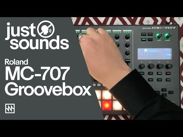 Just Sounds: Roland MC-707 Groovebox House Workout