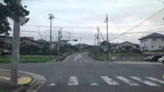 13.7.25(木) 田村市文化センター〜ハシドラッグ船引(抜け道)