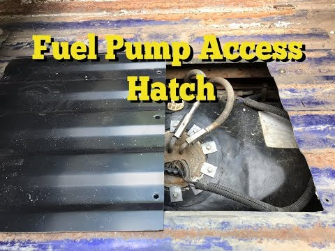 IMPROVED / Fuel Pump Access Hatch F150