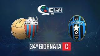 Catania - Bisceglie 2-1 Highlights